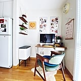 The Brabantia Bo Touch Trash Can in the Kitchen Home Office
