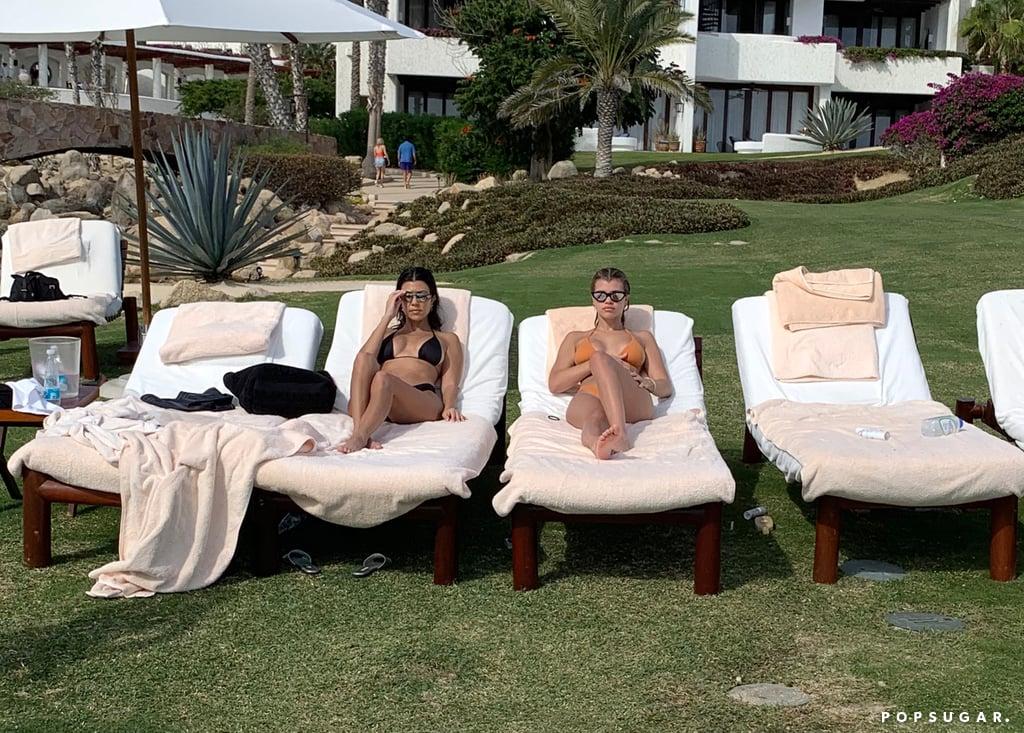 Kourtney Kardashian and Sofia Richie Bikinis in Mexico 2018