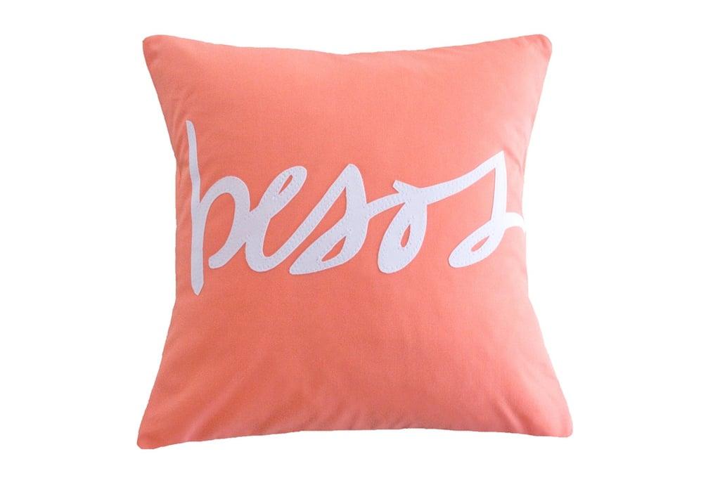 Besos Pillow ($91)