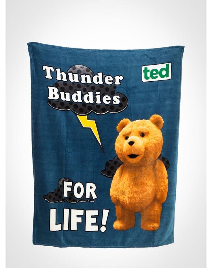 "Ted ""Thunder Buddies"" Fleece Blanket ($18, originally $23)"
