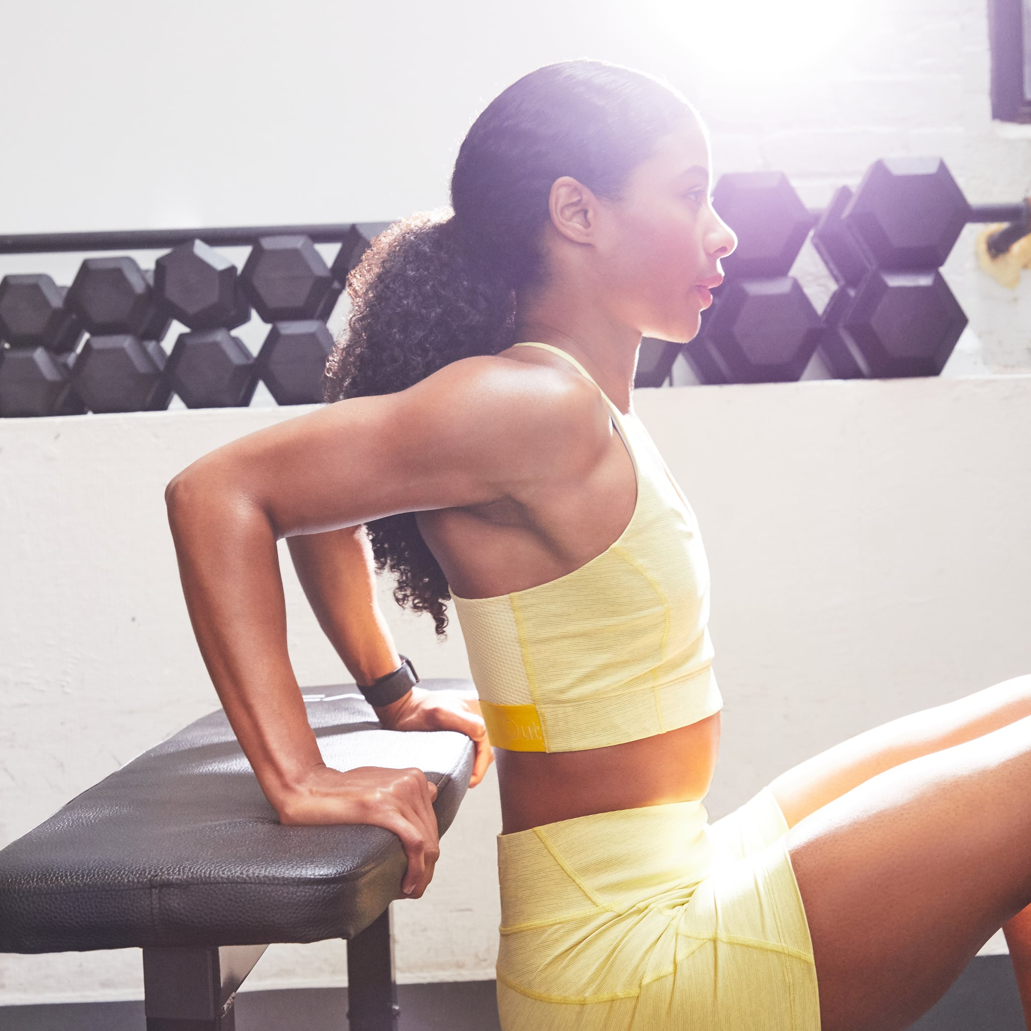 Dumbbell Back And Arm Exercises Popsugar Fitness