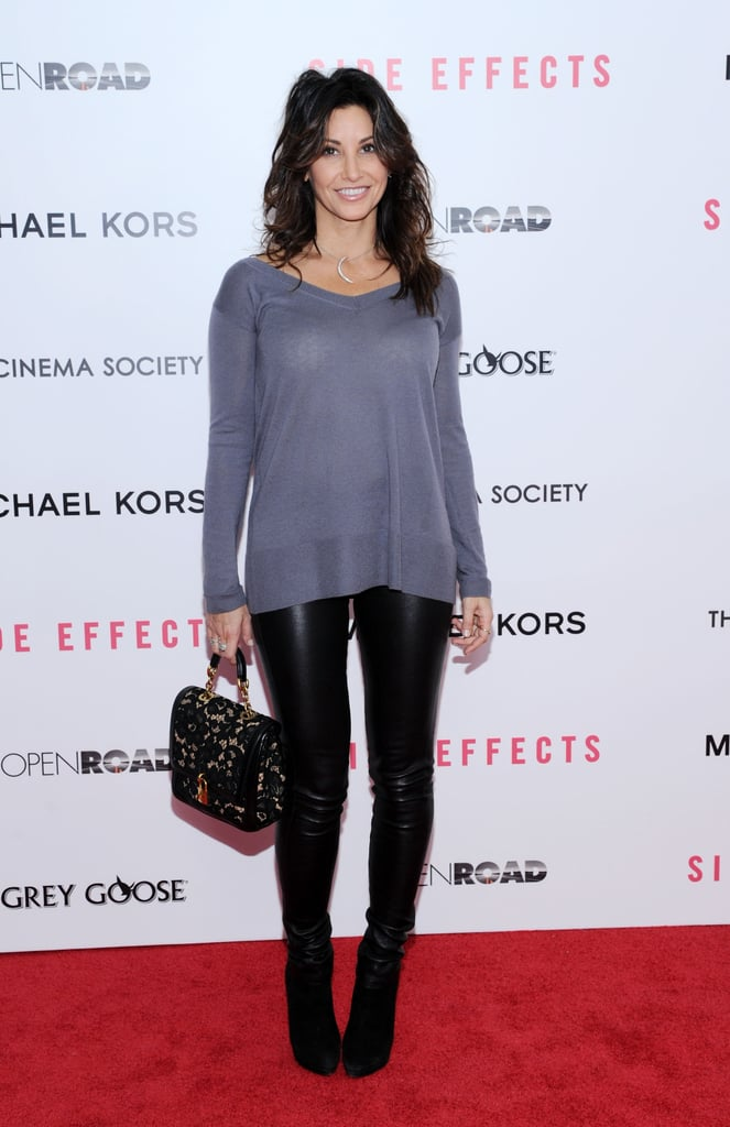 Gina Gershon went casual on the red carpet.
