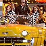 "When Pitbull Rode Up in ""El Taxi"" (Without Sofia Vergara)"