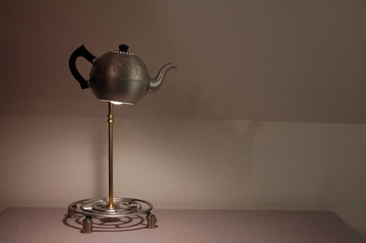 Love It or Hate It? Upcycled Teapot Lamp