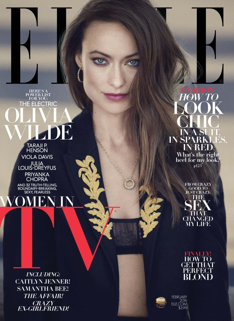 Elle Magazine Women In Tv 2016 Covers Popsugar Celebrity