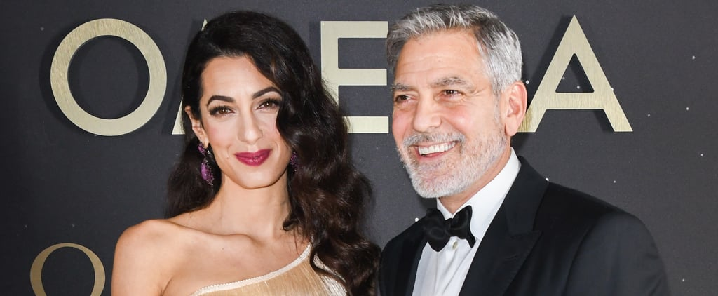 George and Amal Clooney at Omega Event May 2019