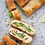 Turkey and Broccoli Stromboli