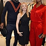Idris Elba, Kylie Minogue, and Sabrina Dhowre