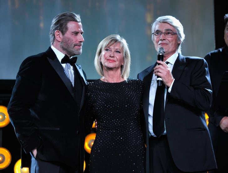 John Travolta and Olivia Newton-John at G'Day Black Tie ...