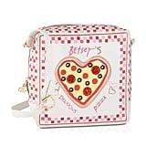 Betsey Johnson Kitch Pizza Box Kitch Crossbody Shoulder Bag