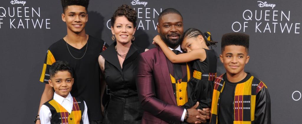 David Oyelowo and Family Wear Matching Outfits Sept. 2016