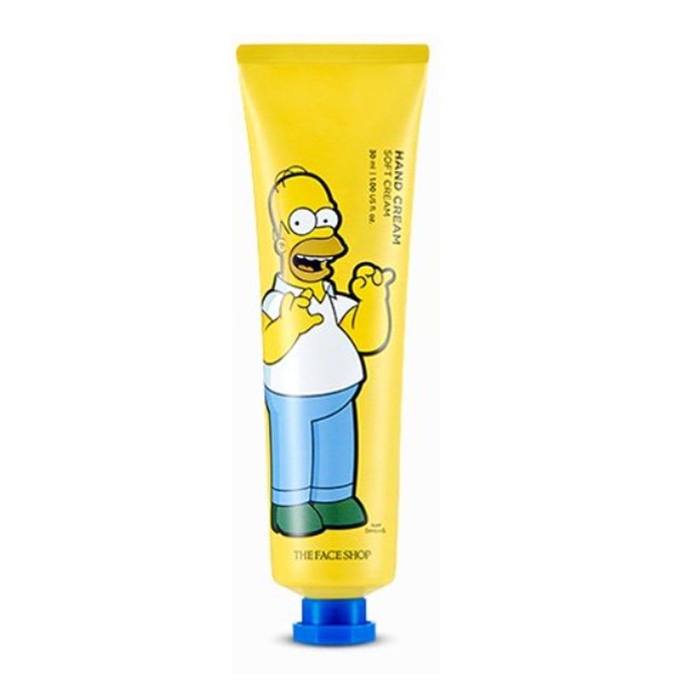 The Face Shop x The Simpsons Character Hand Cream Homer