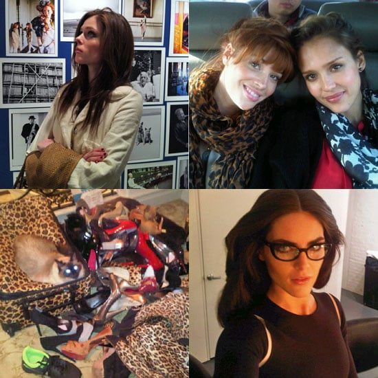 Pictures of Celebrities and Fashion Insiders From Twitter