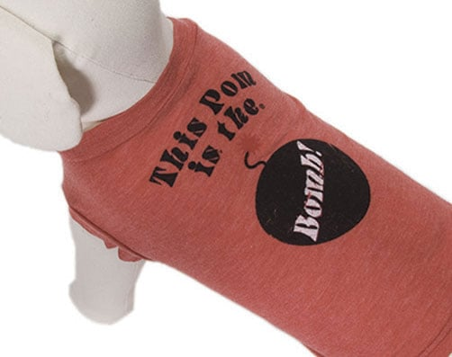 These Witty, Weathered Tees Win Giggles and Wagging Tails