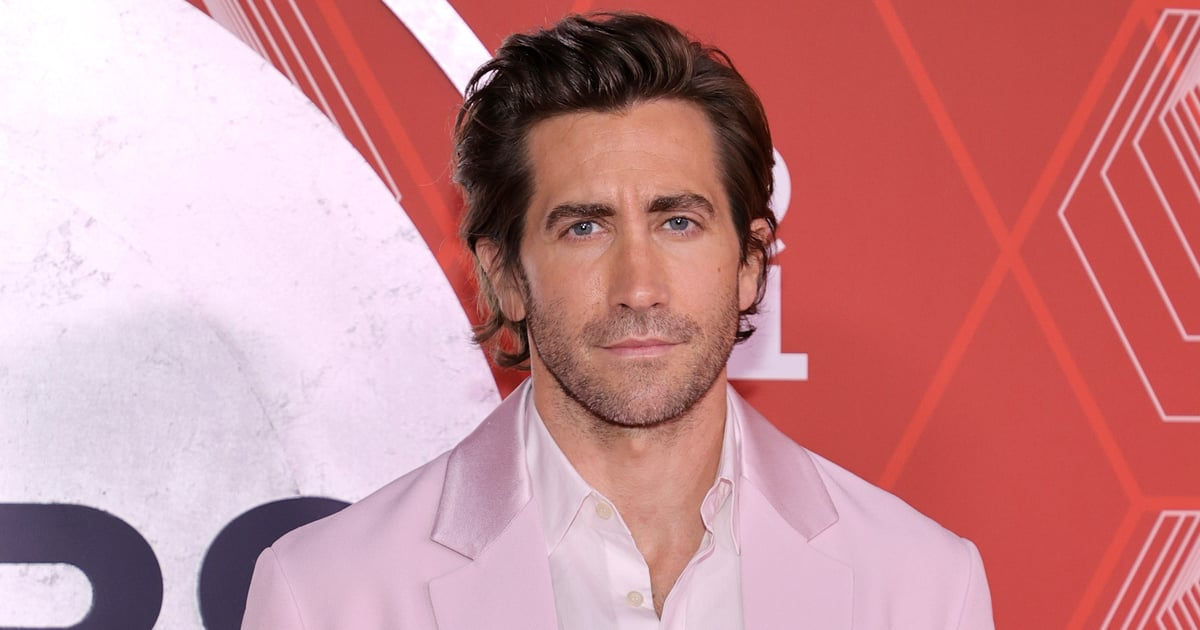 Prepare to Fall in Love With Jake Gyllenhaal and His Pale Pink Prada Tuxedo.jpg