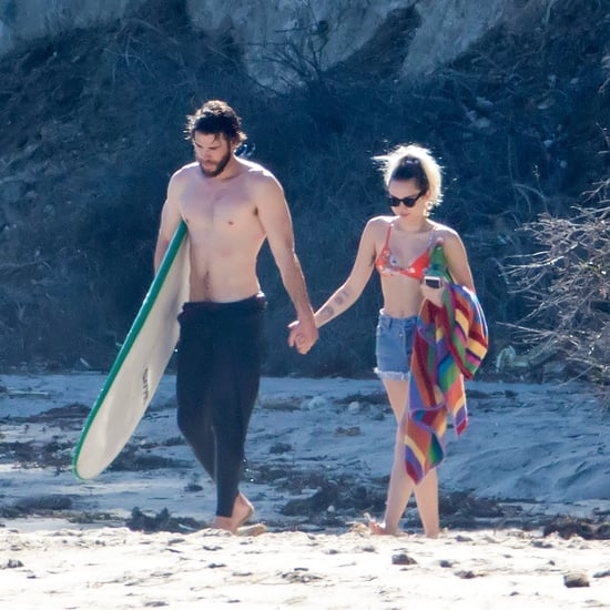 Miley Cyrus and Liam Hemsworth in Malibu Pictures