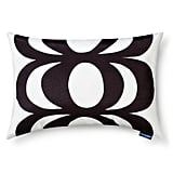 Kaivo & Okariino print indoor/outdoor lumbar pillow in black ($25)