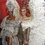 Pictured: Rihanna and Katy Perry