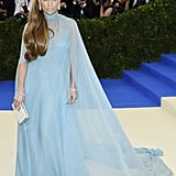 Jennifer Lopez in Valentino as . . .