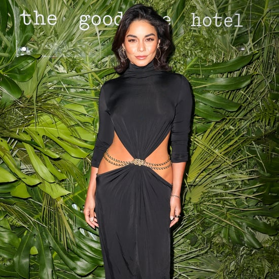 See Vanessa Hudgens's Sexy Low-Slung Cult Gaia Dress