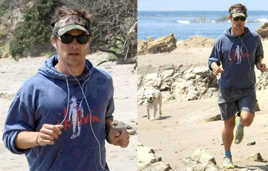 Photos of Matthew McConaughey in Malibu