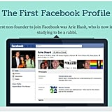 The first Facebook profile only happened 13 years ago!