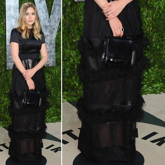 Elizabeth Olsen at the Oscars Afterparty 2012