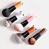Docolor 5-Piece Cartoon Face Mini Kabuki Brush Set