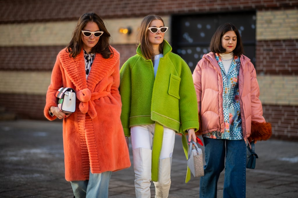 Get Your Friends To Wear Colourful Coats With You