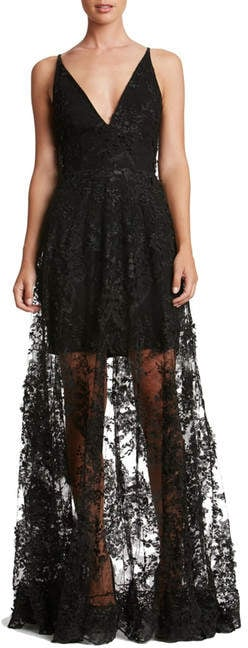 Dress the Population Sidney Lace Gown