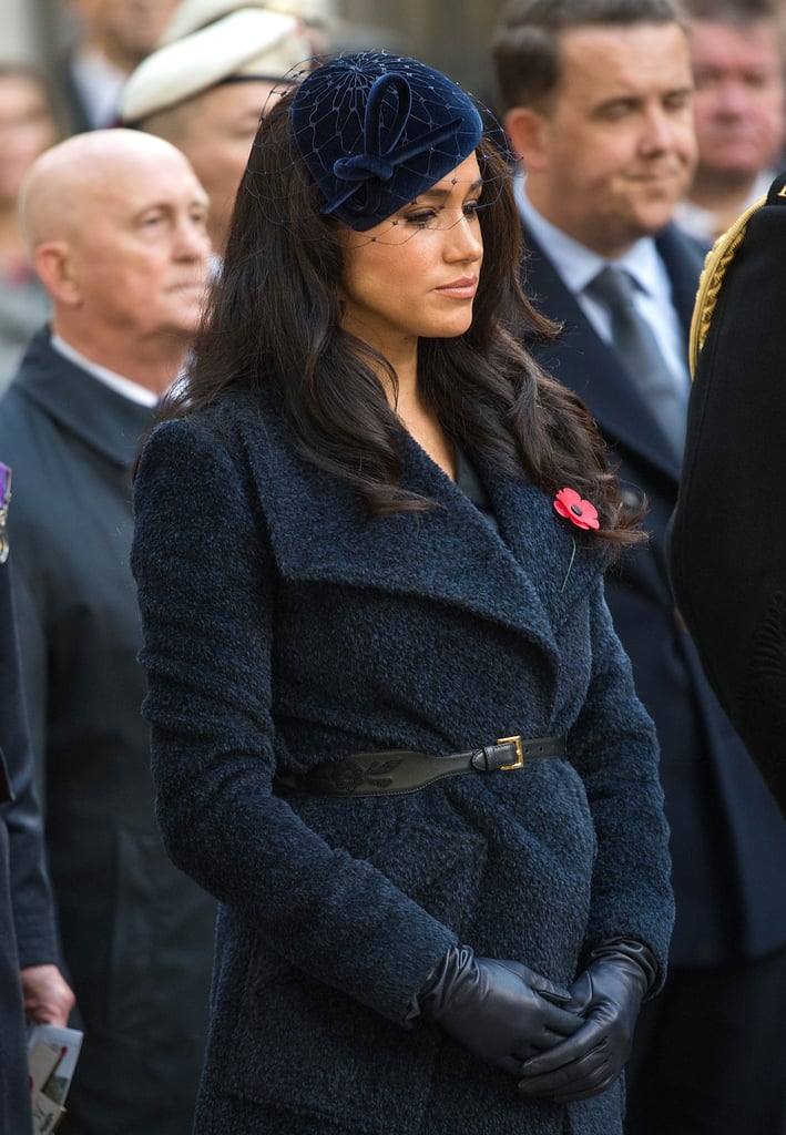 Prince Harry and Meghan Markle Field of Remembrance 2019