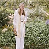 Meryl Streep was all smiles while posing in the gardens in 1989.