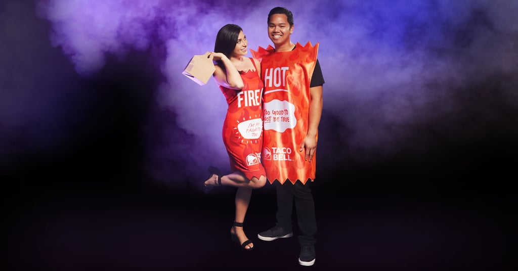 Taco Bell Fire Sauce Dress and Hot Sauce Tunic