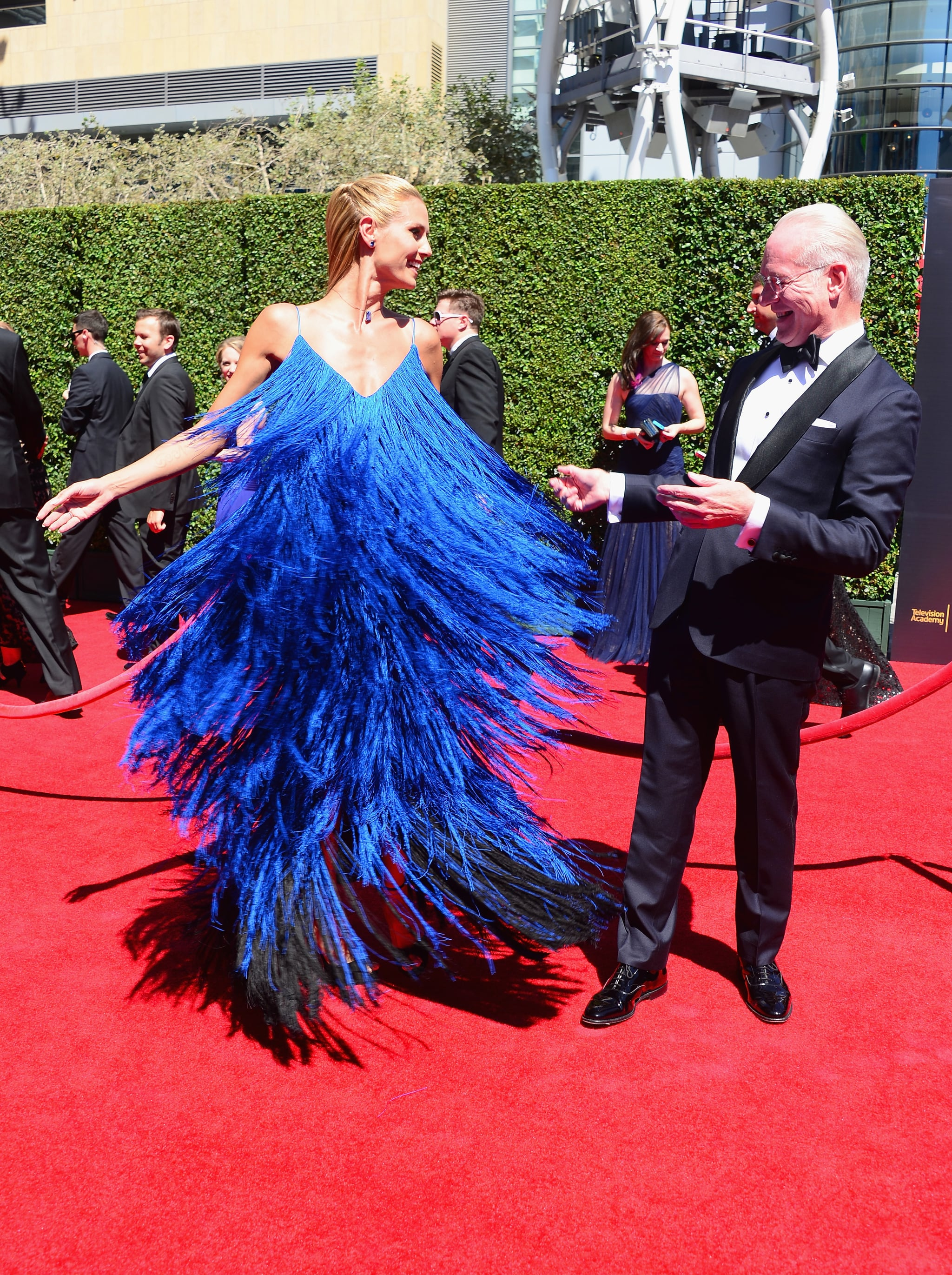 Even Tim Gunn couldn't help but take notice.