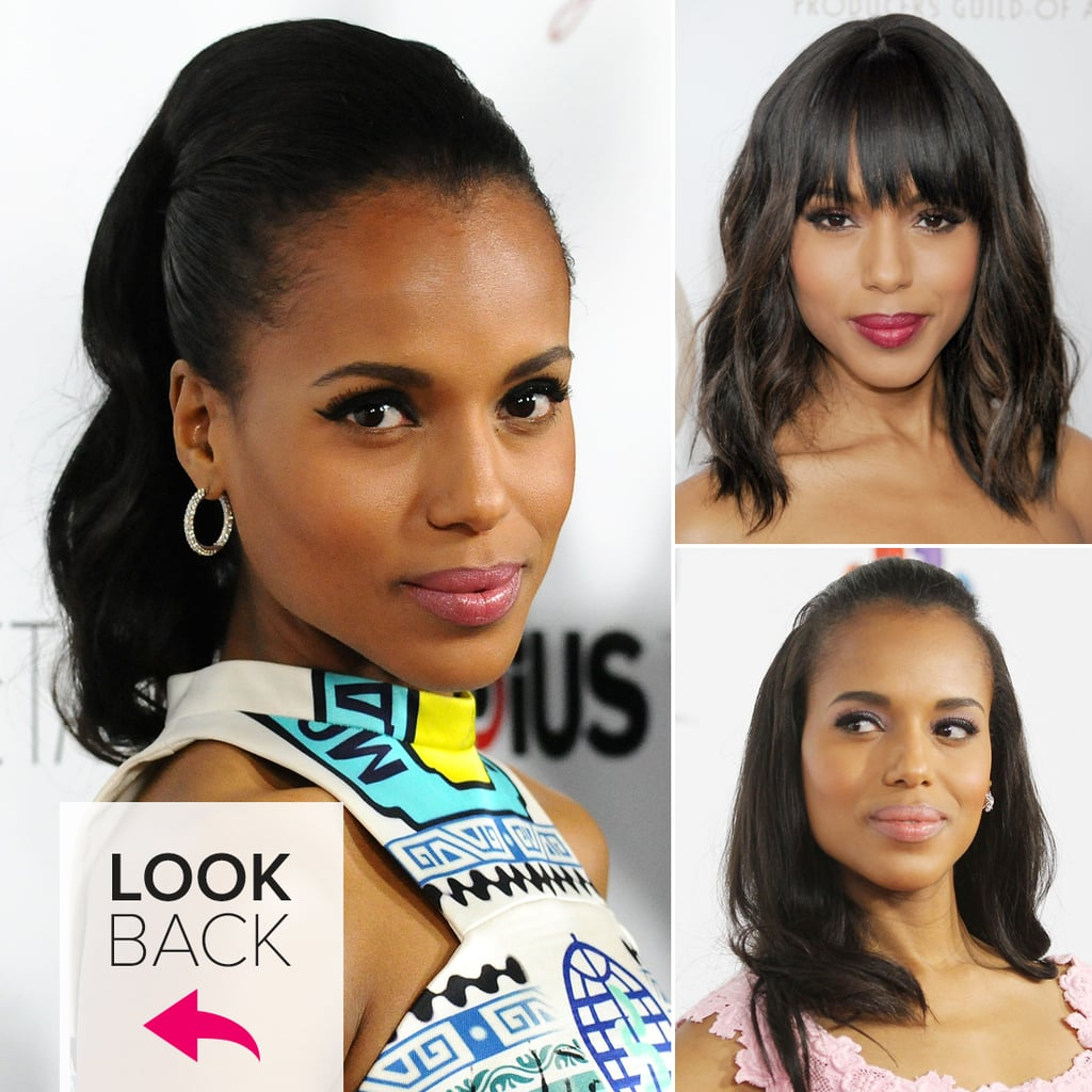 People Pleaser: See Kerry Washington's Top 12 Hair Moments