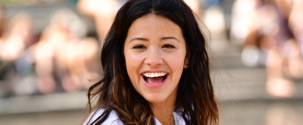 Gina Rodriguez Giving a College Scholarship June 2018