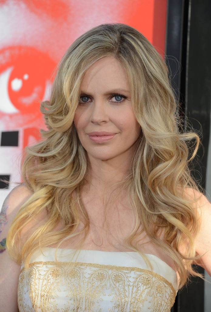 Kristin Bauer van Straten lit up the carpet in a light yellow dress.
