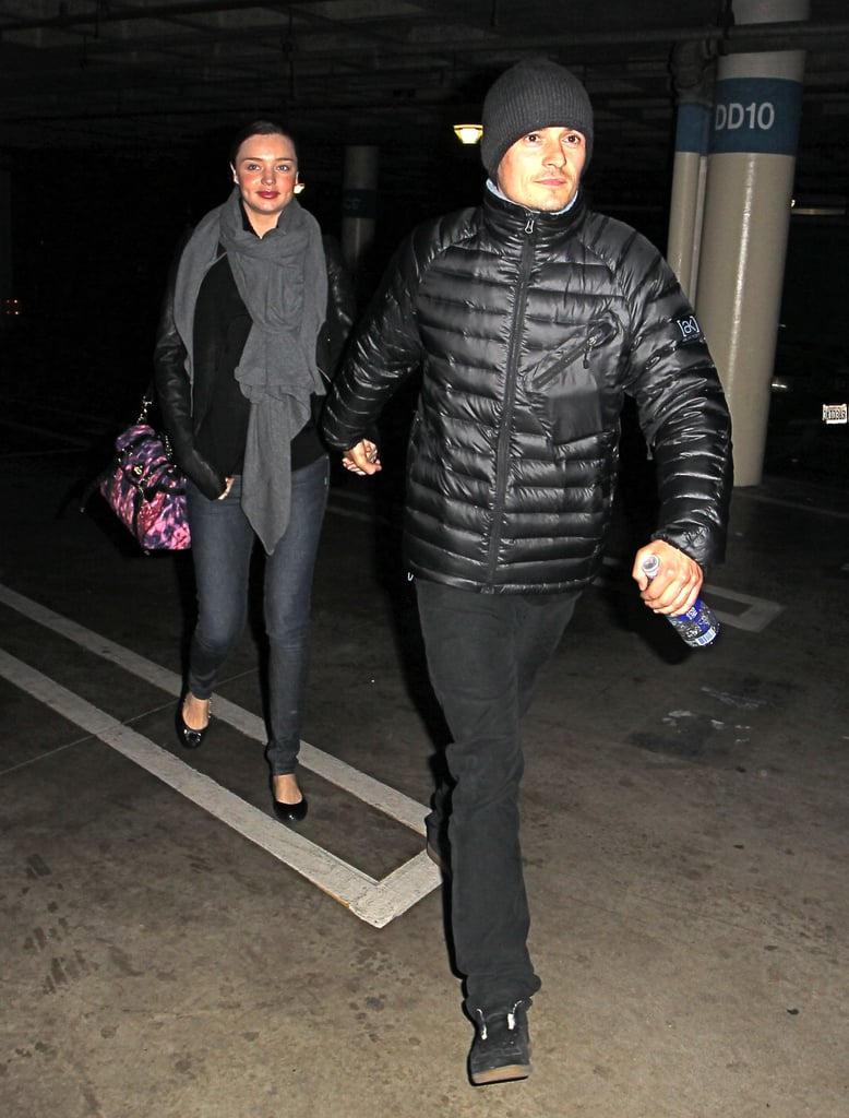 Photos of Orlando Bloom and Miranda Kerr