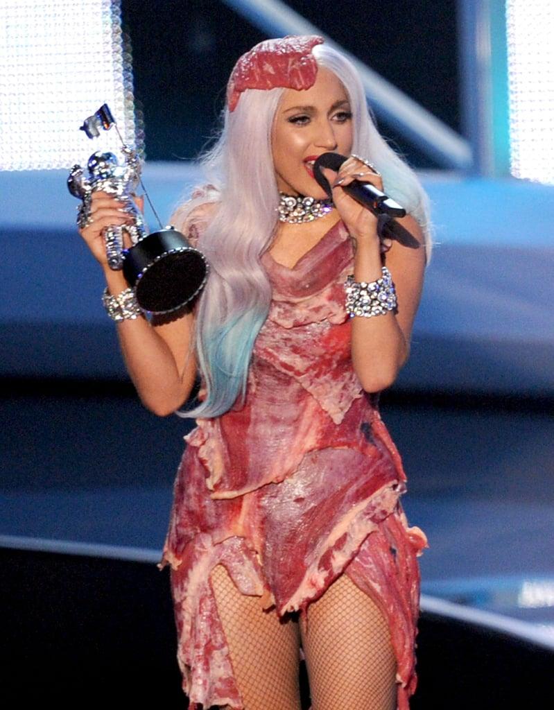 2010: Lady Gaga Made History at the MTV VMAs