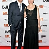 Clive Owen and Juliette Binoche teamed up on the red carpet for the premiere of Words and Pictures.