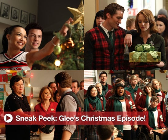 Glee Christmas Episode Pictures