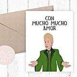 Con Mucho Mucho Amor Walter Mercado Card ($5)