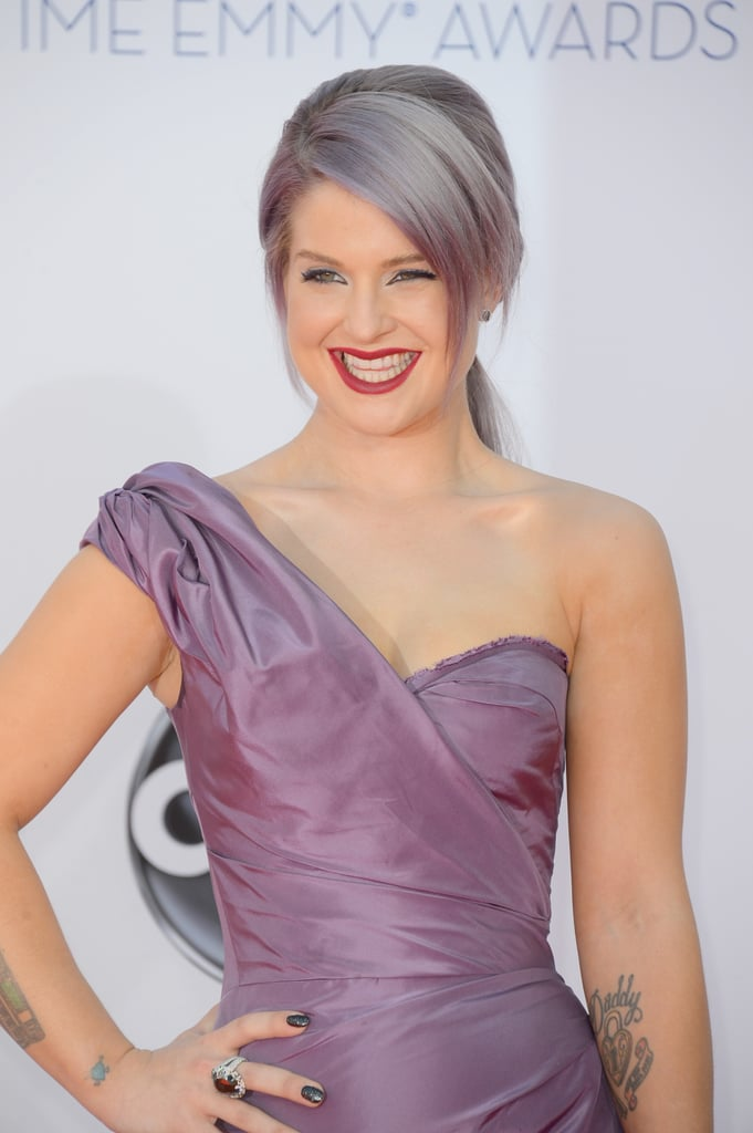 Kelly Osbourne arrived at the 2012 Emmys.