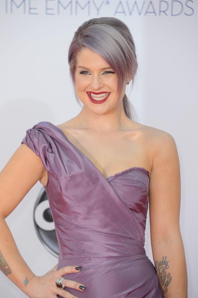Kelly Osbourne rocked a Zac Posen gown.