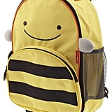 Let your little busy bee store tote their belongings in the Bee Rolling Luggage ($38) by Skip Hop — a sturdy, playful pick.