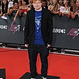 Ed Sheeran dropped by the event.
