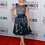Julianne Hough wore Tony Ward Couture at the People's Choice Awards.