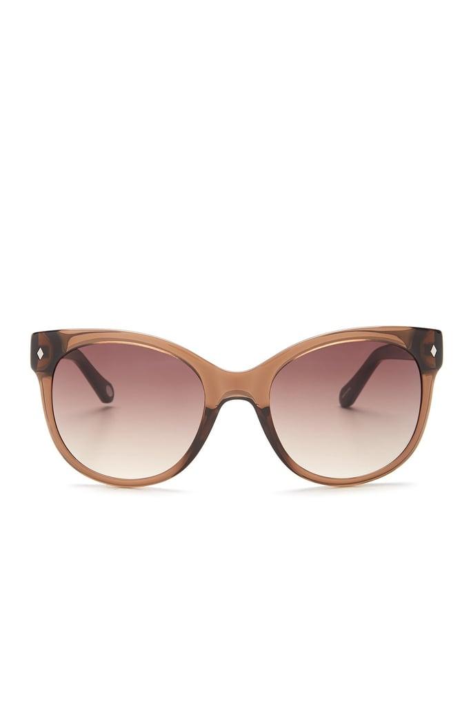Fossil Women's Cat Eye Wayfarer Sunglasses