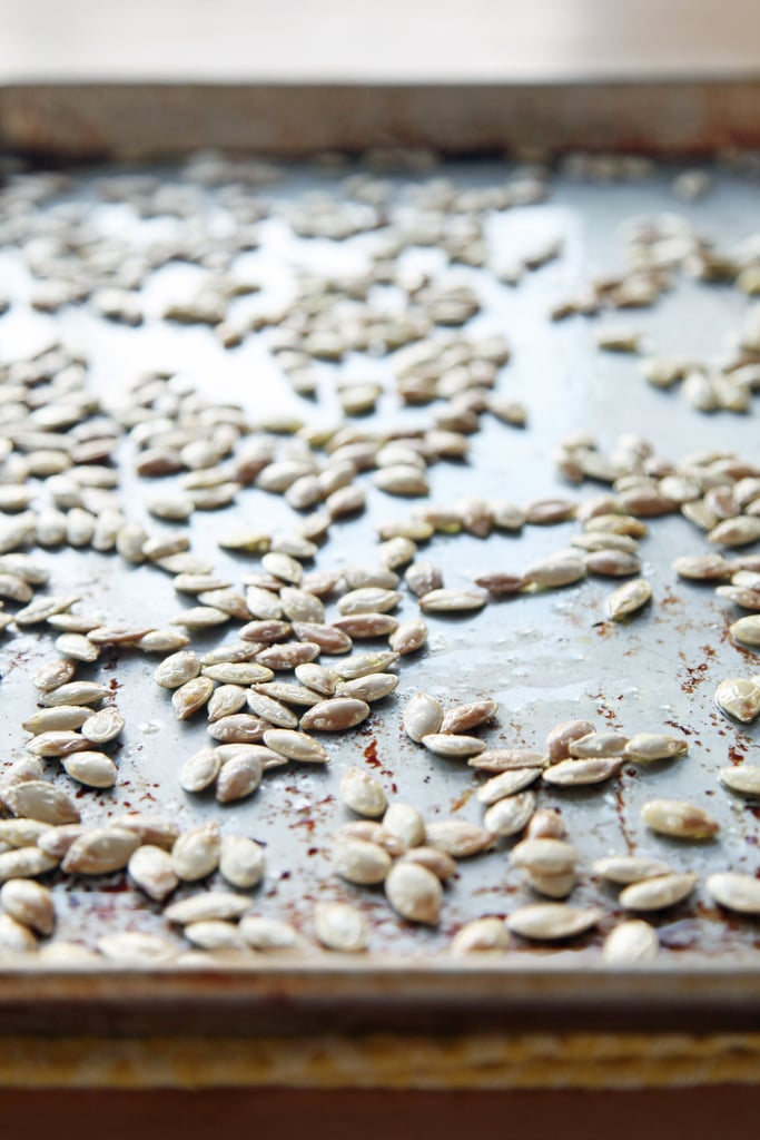 How to Oven Roast Pumpkin Seeds