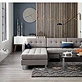 Button-Tufted Sofa